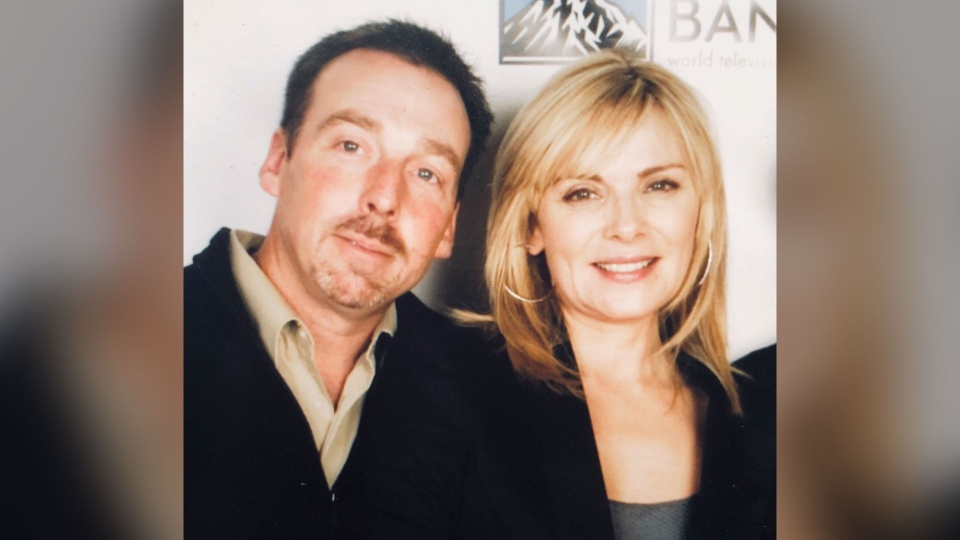Christopher Cattrall and Kim Cattrall (@KimCattral