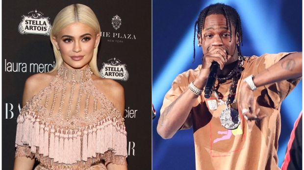 Kylie Jenner and baby's dad Travis Scott