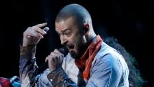 Justin Timberlake at halftime show