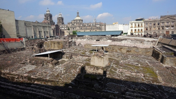 Templo Mayor pyramid complex