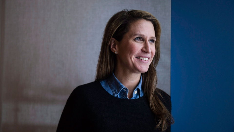 Caroline Mulroney poses for a photograph in Toronto, on Sunday, February 4, 2018. THE CANADIAN PRESS/Christopher Katsarov