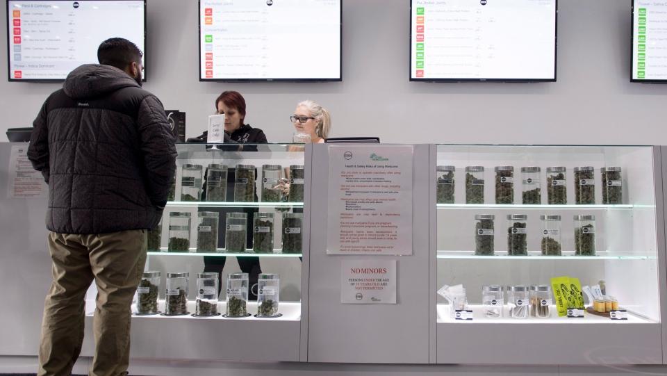 Eden marijuana dispensary in Vancouver