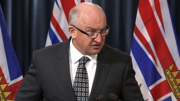 Minister Mike Farnworth