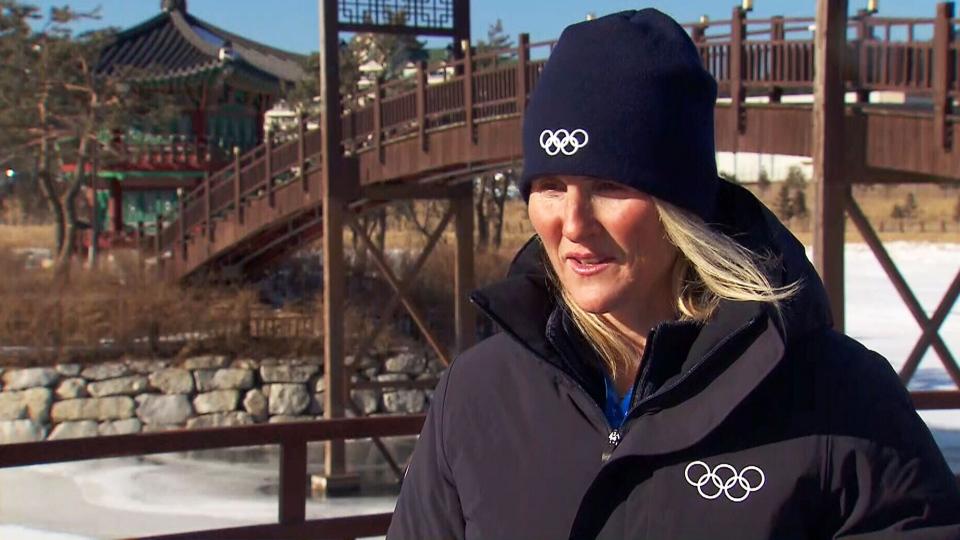 Hayley Wickenheiser in Pyeongchang