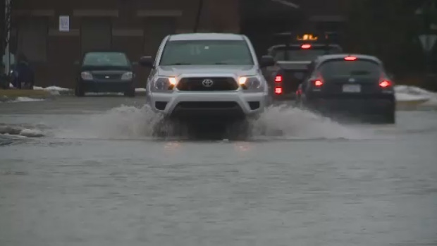 Residents in Sydney, N.S., are once again dealing with localized flooding.