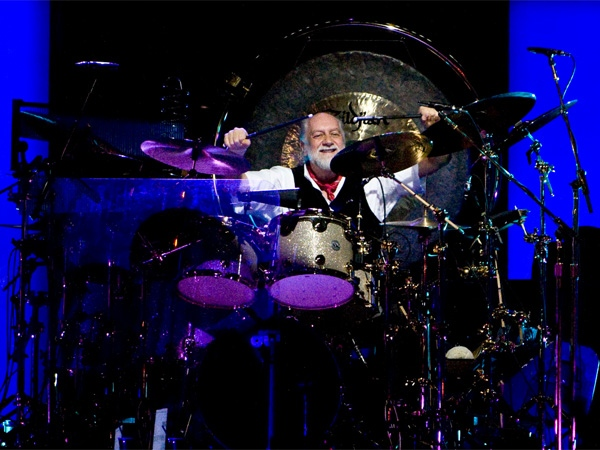 Drummer Mick Fleetwood performs with Fleetwood Mac on Friday, May 16, 2009, at Vancouver's GM Place. (Anil Sharma for ctvbc.ca)