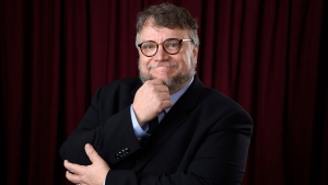 Guillermo del Toro poses for a portrait at the 90th Academy Awards Nominees Luncheon at The Beverly Hilton hotel on Monday, Feb. 5, 2018, in Beverly Hills, Calif. (Chris Pizzello / Invision / AP)
