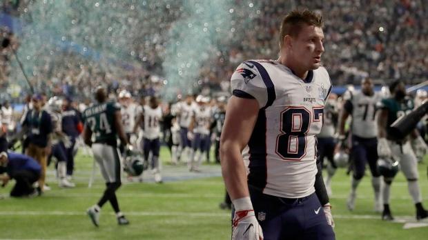 New England Patriots' Rob Gronkowski