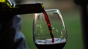 The Alberta premier announced Tuesday that the province would block all wine imports from B.C. effective immediately. (AP Photo/Luis Hidalgo)