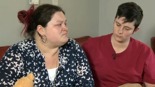 Elysha Schlicter and Jayla Thompson lost their 12-year-old son Trai to a carbon monoxide leak in their condo building in Airdrie on February 4, 2018