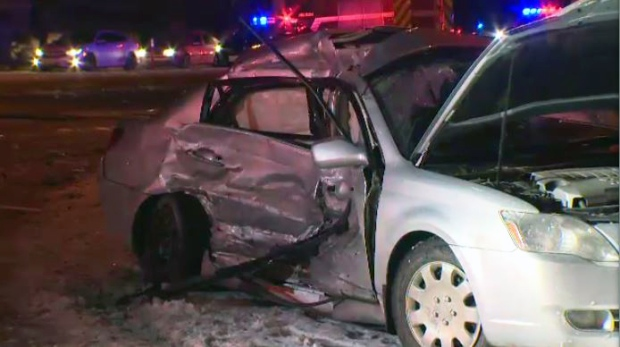 Highway 7/8 crash