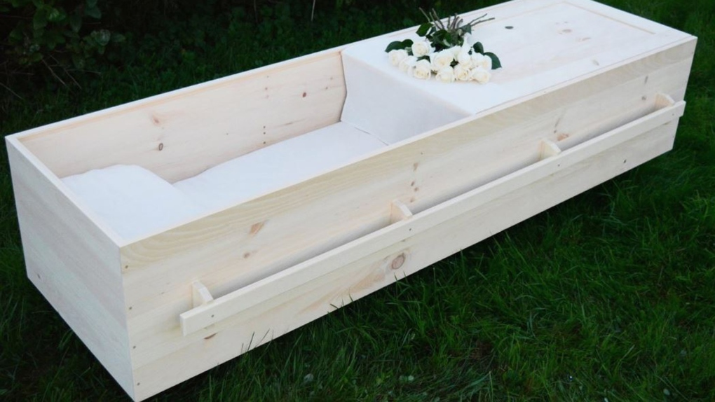 Do-it-yourself casket? It's a thing, thanks to a N B
