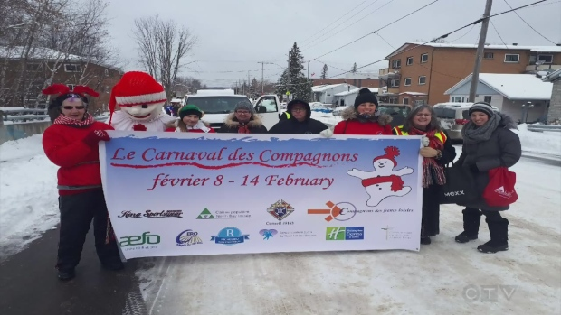 Largest french carnival outside of Quebec