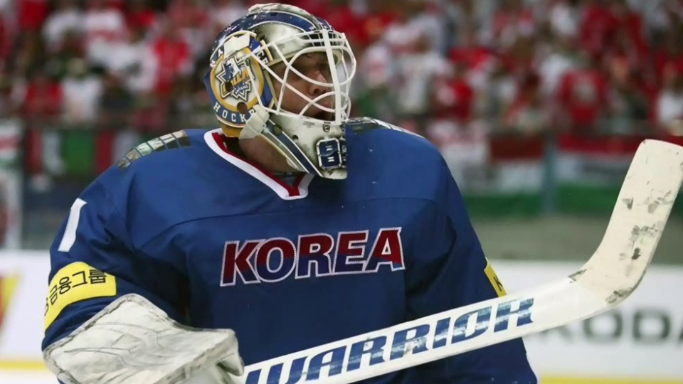 Matt Dalton, who was born and raised in Clinton, Ont., will play goal for the South Korean men's hockey team at the Olympics.