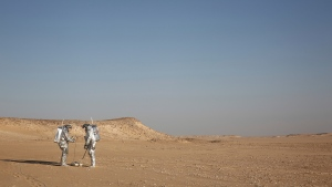 Dhofar desert of southern Oman