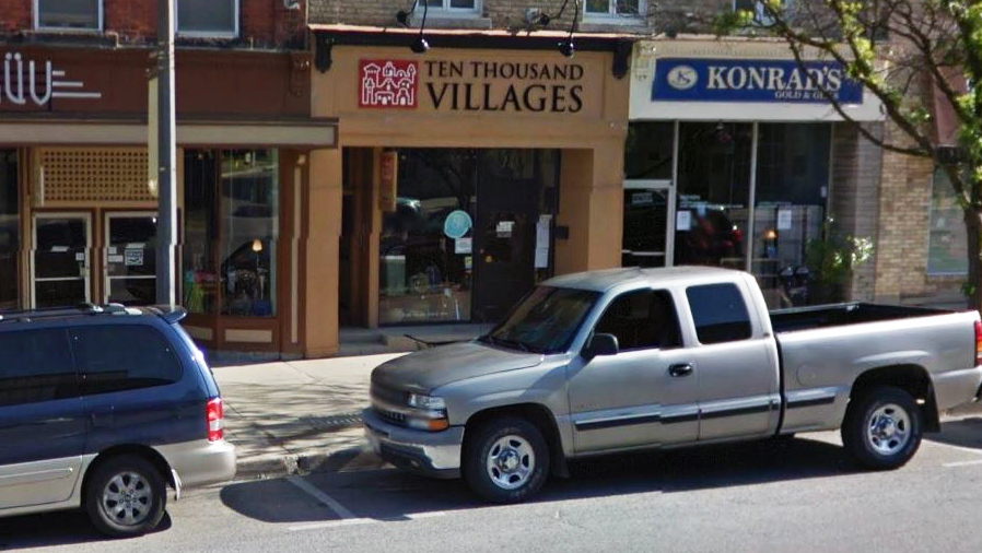 The Ten Thousand Villages store in Stratford is one of nine across Canada slated for closure. (Google)