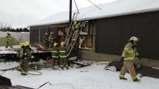 Northfield Drive fire