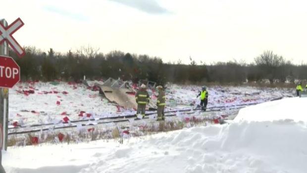 Wurster train crash