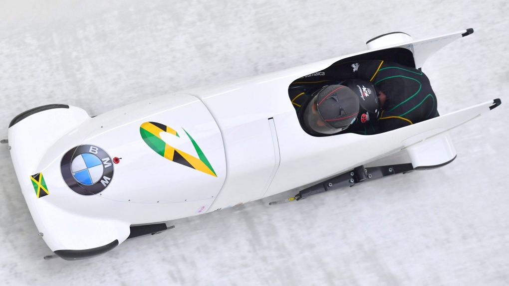 Jamaica bobsled team