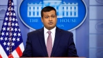 White House deputy press secretary Raj Shah talks to reporters during the daily press briefing in the Brady press briefing room at the White House, in Washington, Thursday, Feb. 8, 2018. (AP Photo/Manuel Balce Ceneta)