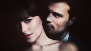 Dakota Johnson and Jamie Dornan in Fifty Shades Freed. Courtesy Universal Pictures.