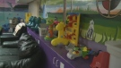 Toys are shown in Sofia House on Feb. 8, 2018