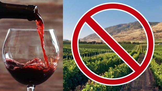 Banned BC wines