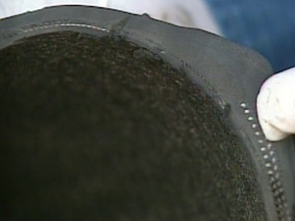 The Chinese plant that manufactures the tires has been accused of neglecting gum strips -- the material that helps hold the belts of tires together.