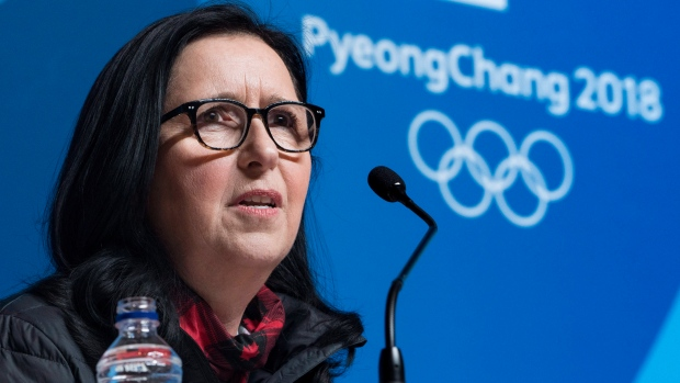 Canadian Olympic Committee president Tricia Smith