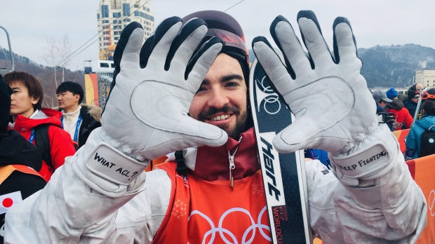 Canadian skier Philippe Marquis
