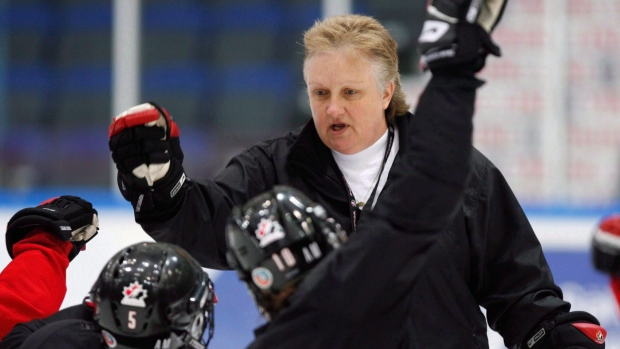 Team Canada head coach Melody Davidson