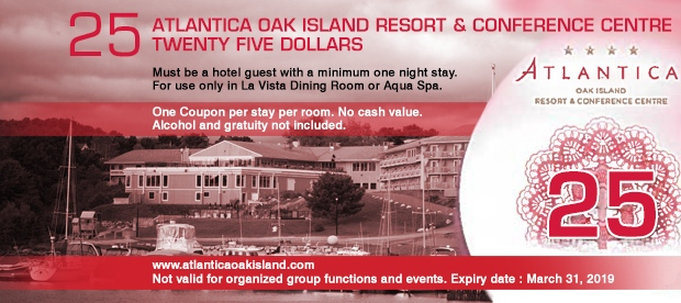 OAK ISLAND COUPON