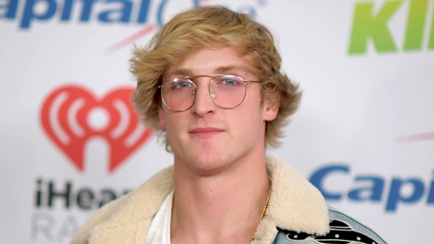 YouTube personality Logan Paul