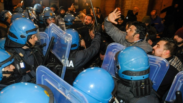Extreme right movement in Italy