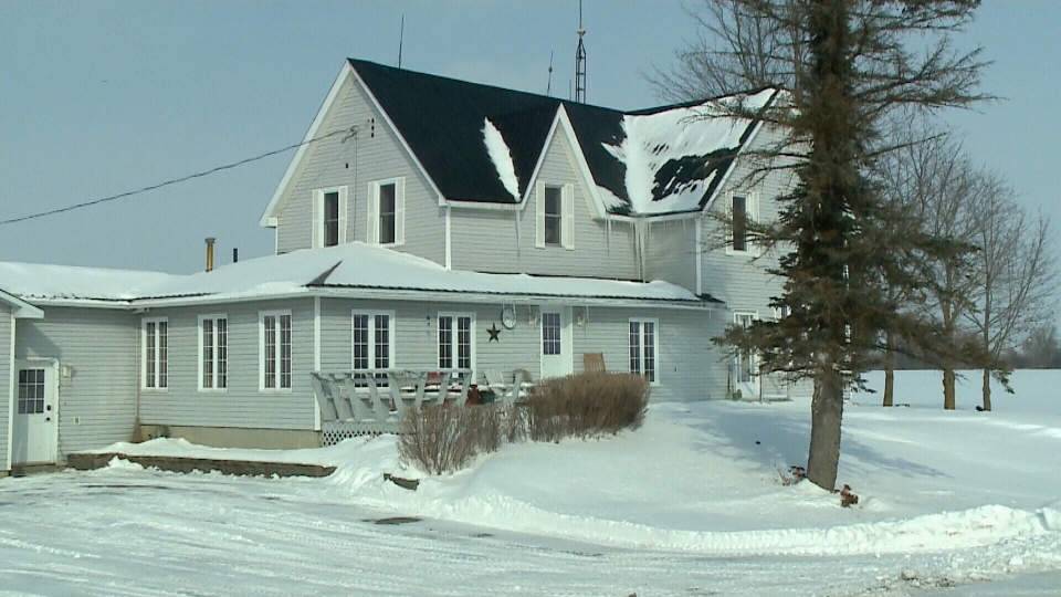 A house infested by bats in Kemptville, Ont.