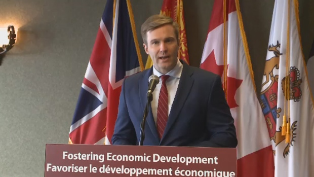 New Brunswick Premier Brian Gallant announces millions of dollars in funding to city of Saint John on Friday, Dec. 9, 2018.