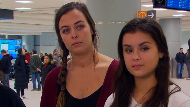 2 women jailed for dirty dancing in Cambodia return to Canada