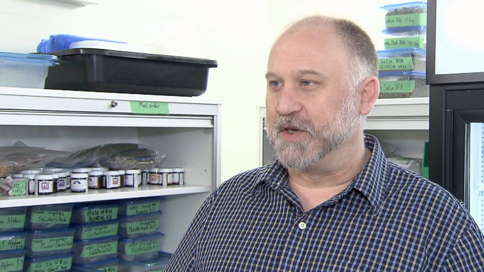 Pot activist Dana Larsen speaks to CTV News on Friday, Feb. 9, 2018.
