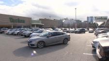 Mall parking lot