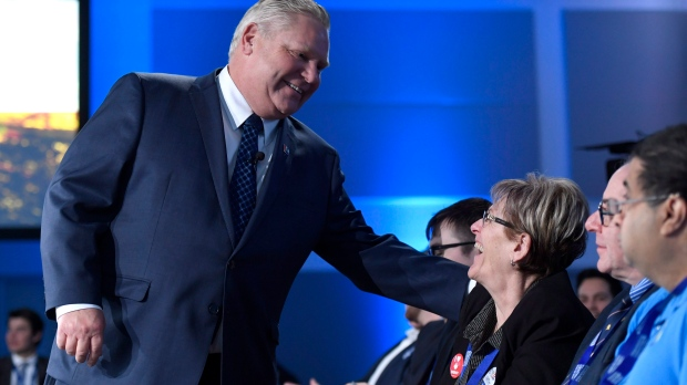 Ontario PC Party leadership candidate Doug Ford