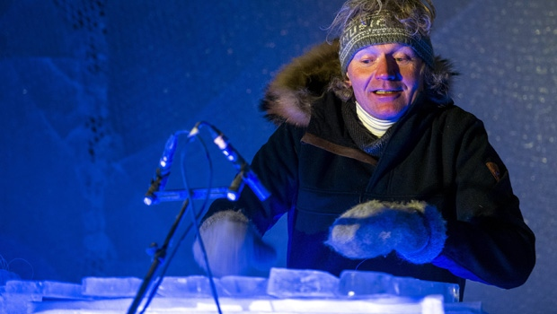 Terje Lsungset, founder of the Ice Music Festival