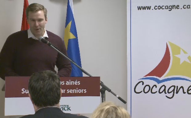 N.B. Premier Brian Gallant announced a new 60 bed nursing home will be built in Cocagne.