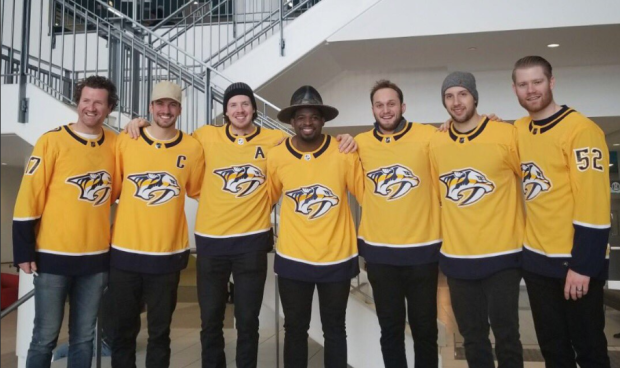 (Photo courtesy P.K. Subban/ Twitter)