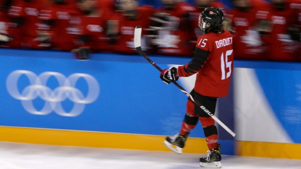 Women's hockey: Johnston, Daoust each score pair as Canada dominates OAR