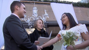 Free weddings in downtown Vancouver