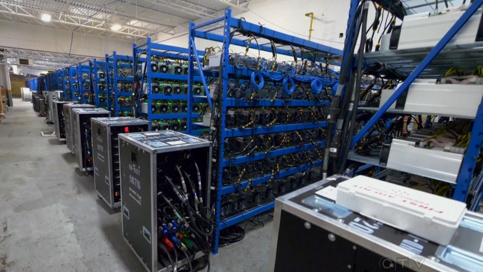 CryptoGlobal is among several cryptocurrency mining companies with operations in Canada.