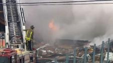 Mississauga plaza explosion