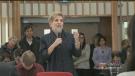 Ontario Premier Kathleen Wynne in Sudbury