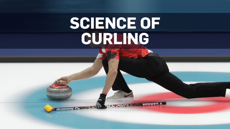 The science behind curling