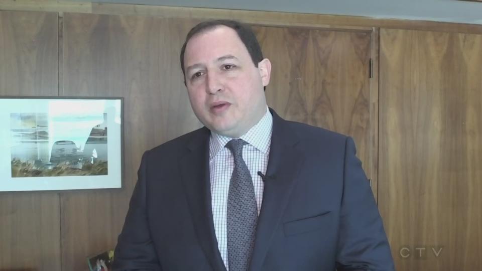 Sault Ste. Marie Mayor Christian Provenzano